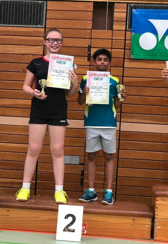 Mannavan 2.Platz Mixed, A-Turnier, Mössingen