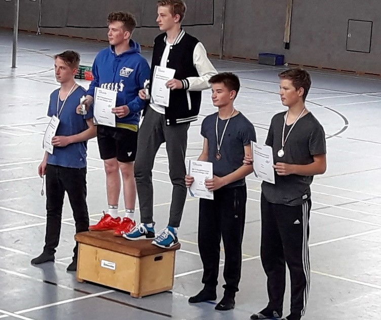 Daniel, Christofer 3.Platz HD U19, Dillingen
